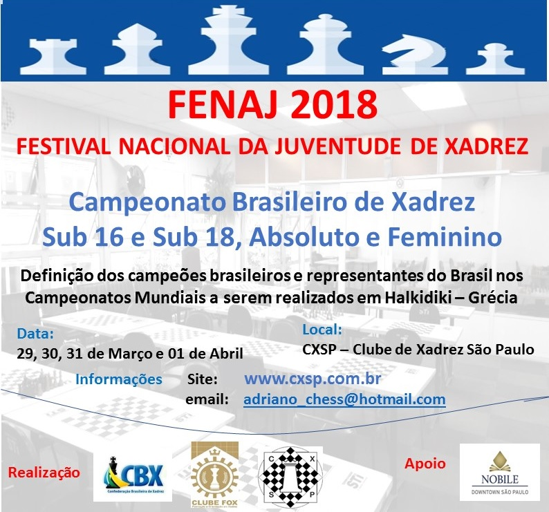 FENAJ 2018 – Classificação final