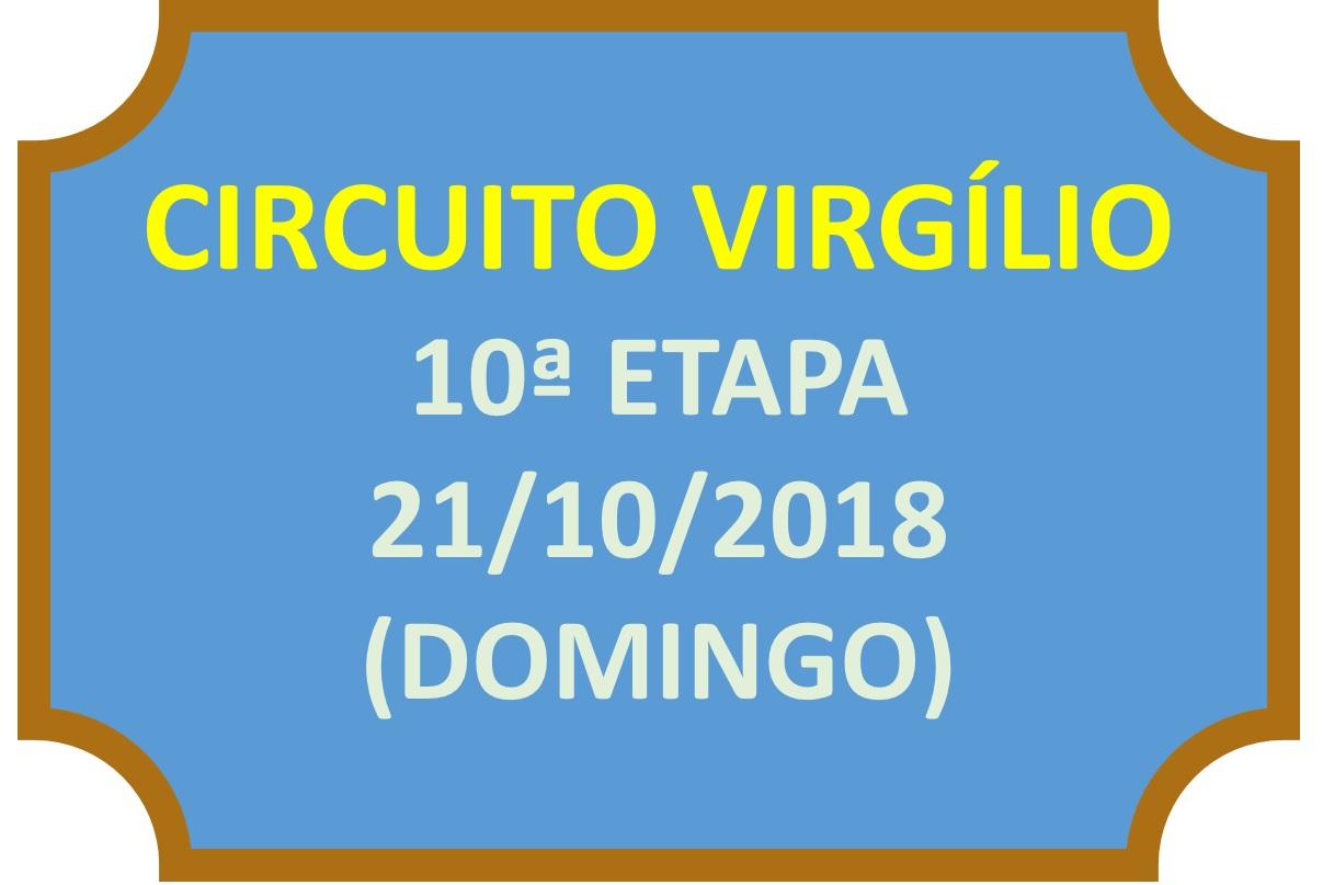 Circuito Virgílio – 10ª Etapa – Resultado