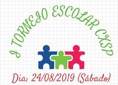 I TORNEIO ESCOLAR – CXSP 2019 ***RESULTADO***