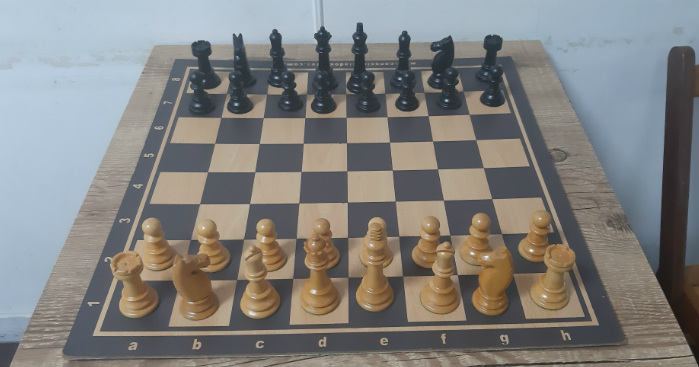 Concorrência Aberta para Jogos de xadrez