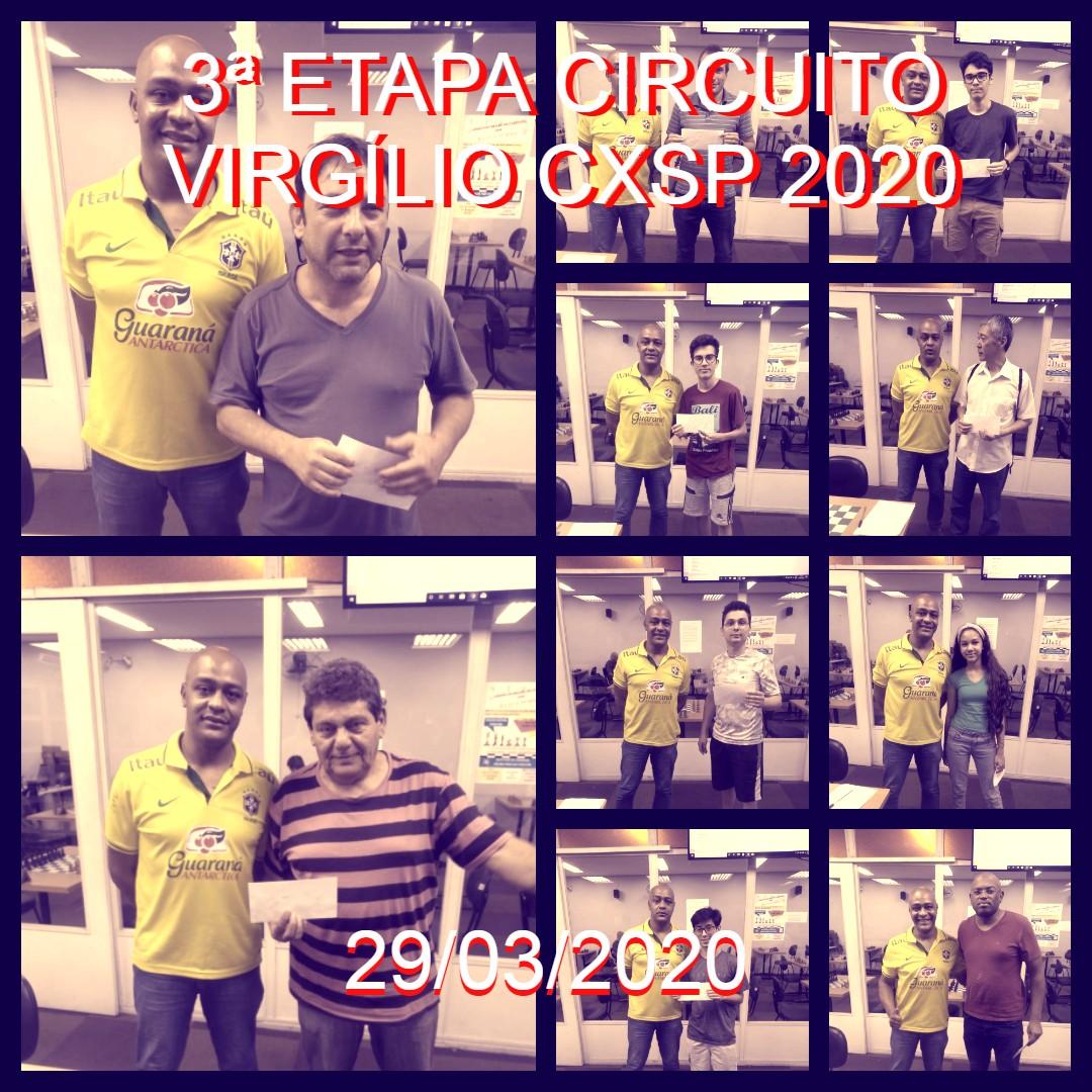 3ª ETAPA CIRCUITO VIRGÍLIO CXSP 2020 – CANCELADO