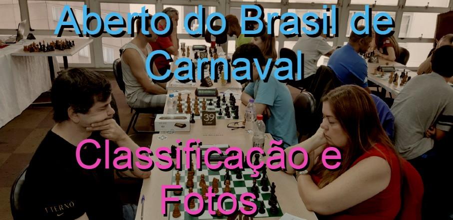 CLASSIFICAÇÃO – Aberto do Brasil de Carnaval 2020