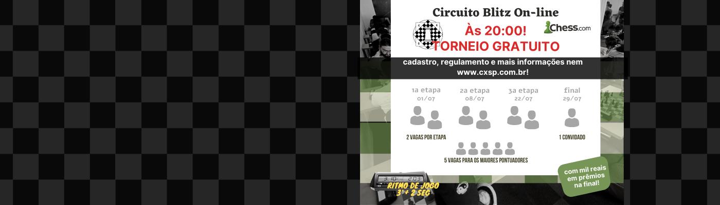 Torneio Blitz On-line do CXSP