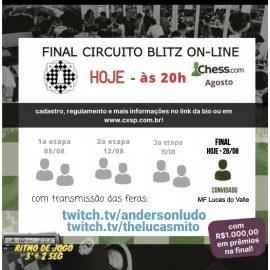 Final do Blitz Online CXSP Hoje!