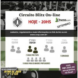2ª Etapa do BLITZ CXSP Online – HOJE, 20hs!