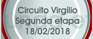 Circuito Virgílio – 2ª Etapa – Resultado