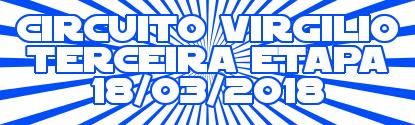 Circuito Virgílio – 3ª Etapa – Resultado