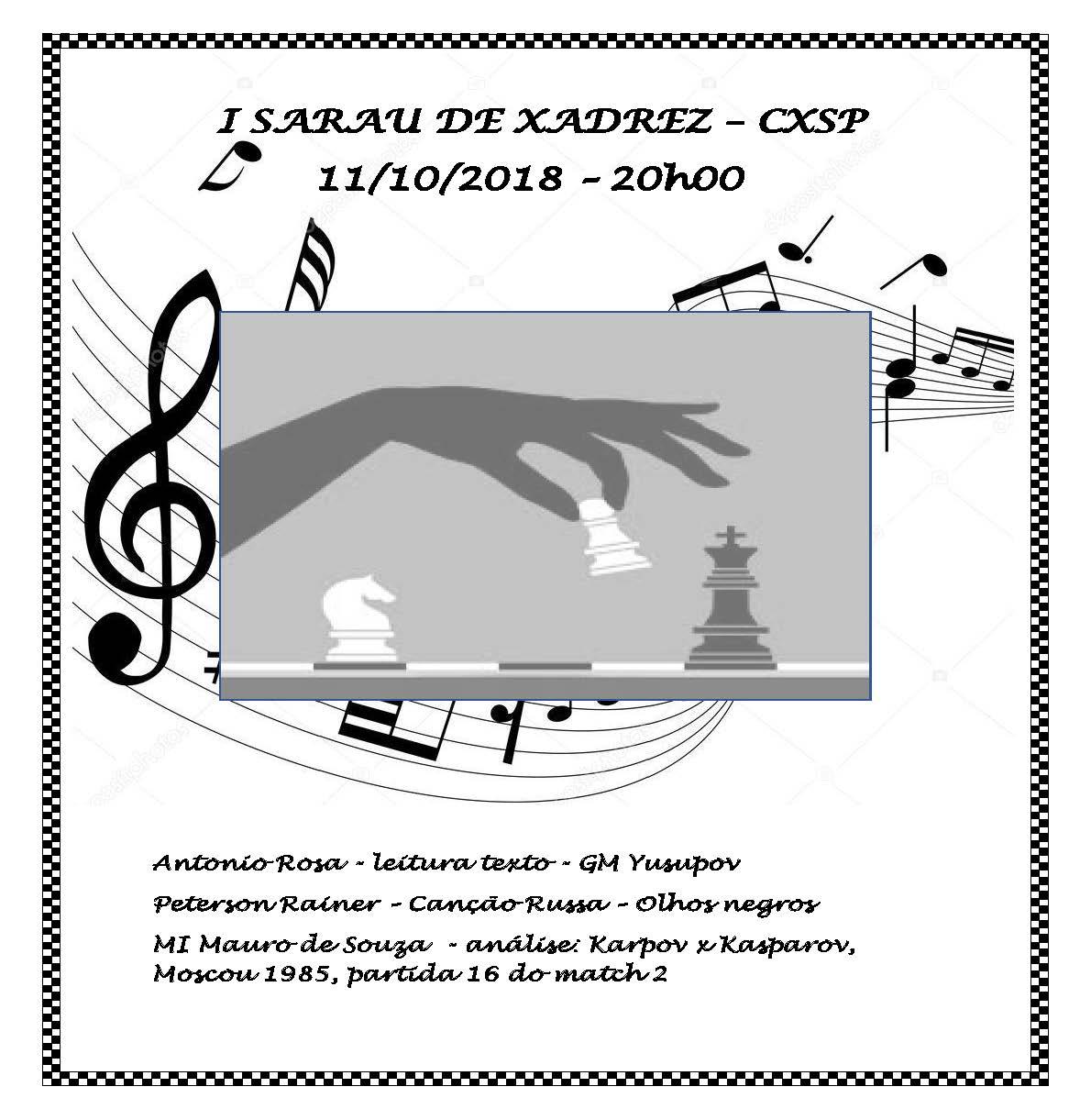 I SARAU DE XADREZ – CXSP
