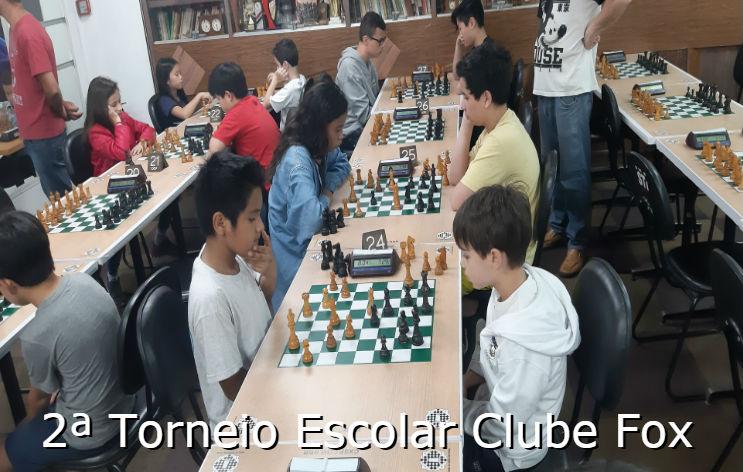 Classificação – 2º Torneio Escolar Clube Fox – 30/11/2019