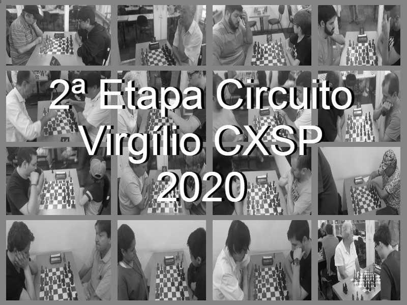 2ª Etapa Circuito Virgílio CXSP 2020